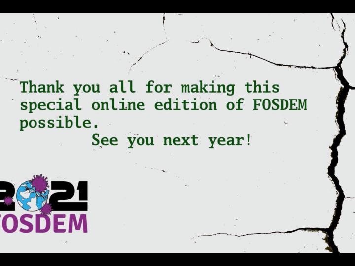 FOSDEM 2021
